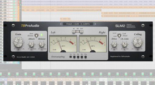 TBProAudio SLM2 Maximizer Plug-in GUI