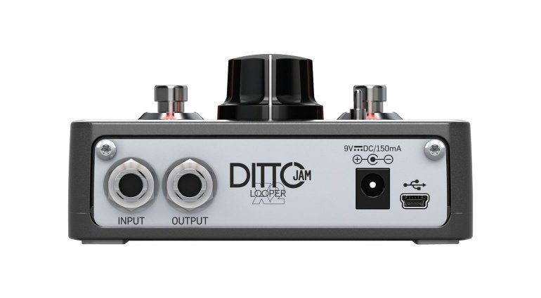 TC Electronics Ditto Jam- X2 Looper Anschlüsse