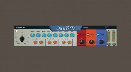 Three-Body Technology - OwnTHD Saturator