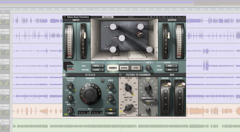 Waves Abbey Road Chambers Plug-in GUI
