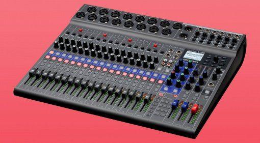 Zoom LiveTrak L-20 Digitaler Mixer