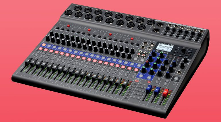 Zoom LiveTrak L-20 Digitaler Mixer