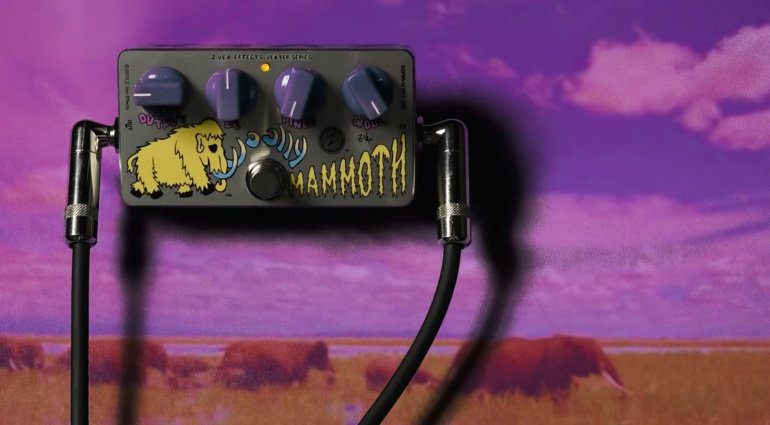 ZVEX Woolly Mammoth Germanium Mod Pedal Front Teaser