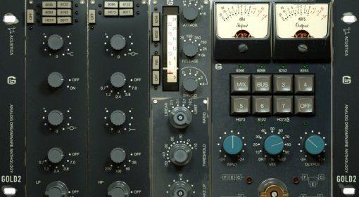Acustica Audio Gold 2 Plug-in Suite - der Klang britischer Konsolen