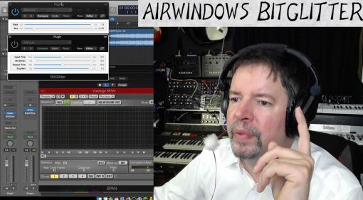 Airwindows verschenkt BitGlitter - ein Hardware-ähnlicher Bit- und Auflösungs-Crusher als VST