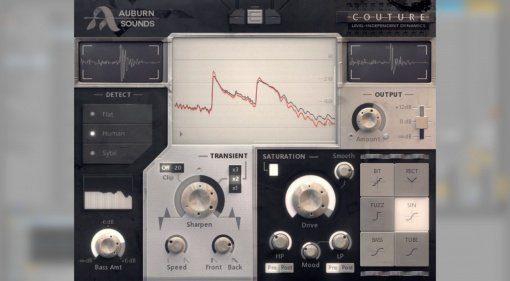 Auburn Sounds Couture - Transient Shaper und Saturation in einem