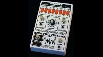Death By Audio Waveformer Destroyer MK2 Effekt Pedal Front