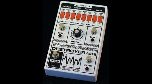 Death By Audio Waveformer Destroyer MK2 Effekt Pedal Front