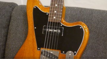 Fender Mahogany Offset Telecaster Front