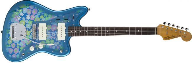 Fender MIJ Traditional 60s Jazzmaster Blue Flower
