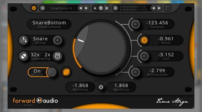 Forward Audio faTimeAlign - bringt Phasenverschiebungen wieder ins Reine