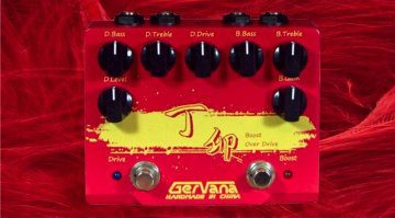 Gervana Ding Mao Boost and Overdrive pedal