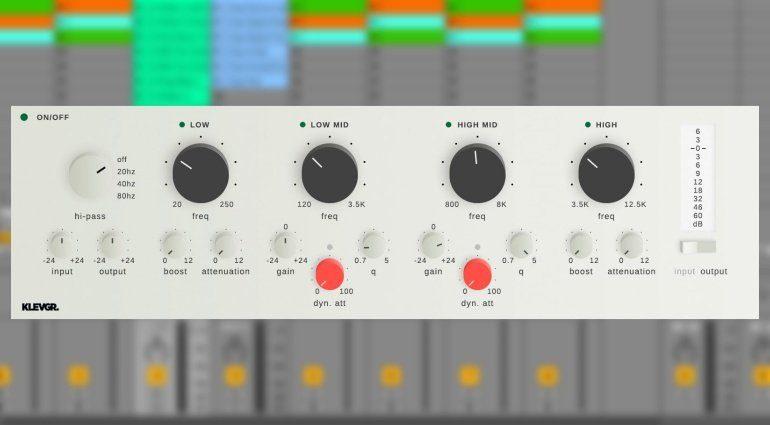 Klevgränd GotoEQ - Vierband EQ mit Extras für iPad und Rechner