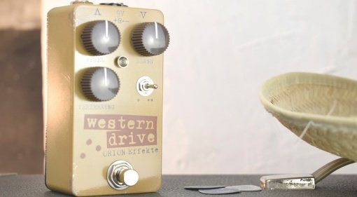 ORion FX Western Drive 2 Overdrive Front