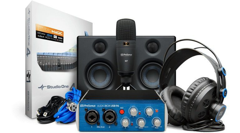 PreSonus Audiobox Studio Ultimate Bundle gallery