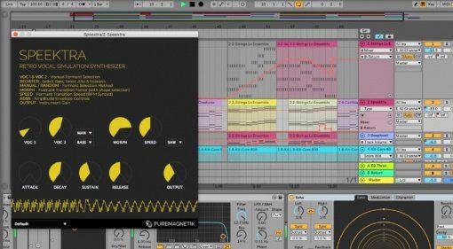 Puremagnetik Speektra - ein Vocal-Synthesizer für die DAW