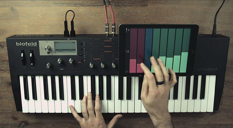 Once upon a synth Ribn - der (iOS-)Ribbon-Controller für alle!