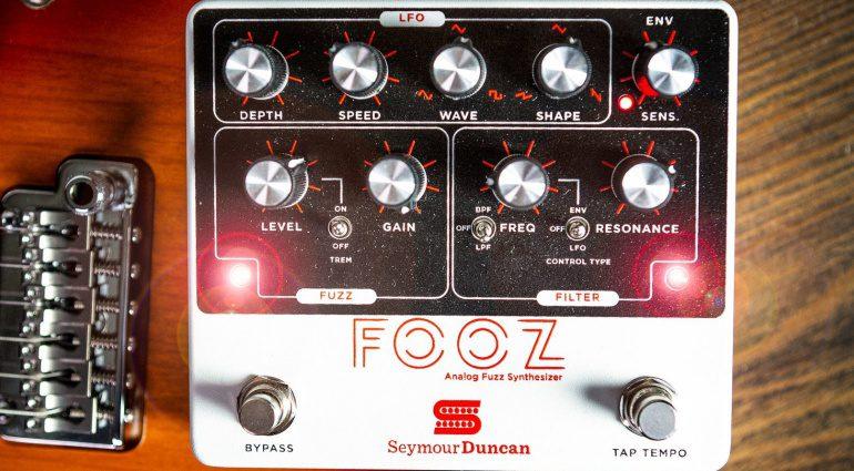 Seymour Duncan Fooz Fuzz Filter LFO