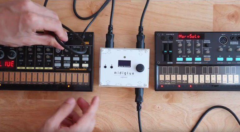 midiglue verbindet alle elektronischen Instrumente und mehr