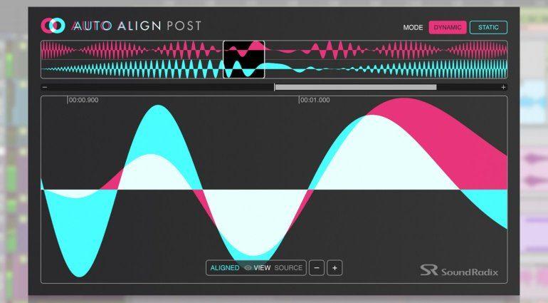 Sound Radix veröffentlicht Auto Align Post