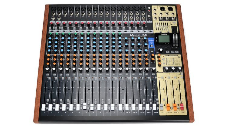 Tascam Model 24 Multitrack Recorder Mixer Front