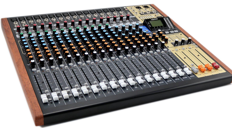 Tascam Model 24 Multitrack Recorder Mixer Slant