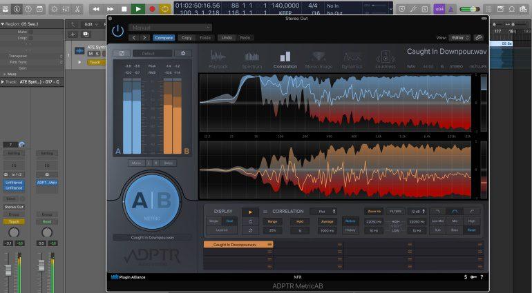 ADPTR Metric AB - Mixe vergleichen par excellence