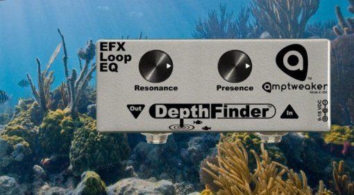 Amptweaker DepthFinder EQ Pedal Effekt Resonanz 5150