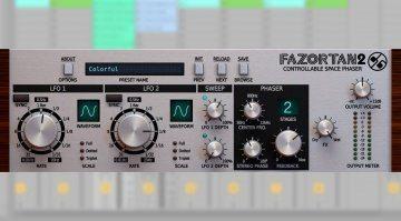 D16 Fazortan 2 - Update des kontrollierbaren Space Phaser Plug-ins angekündigt