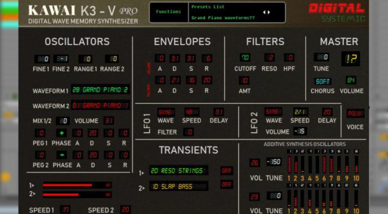 K3-V Extended ist eine kostenlose Emulation des Kawai K3