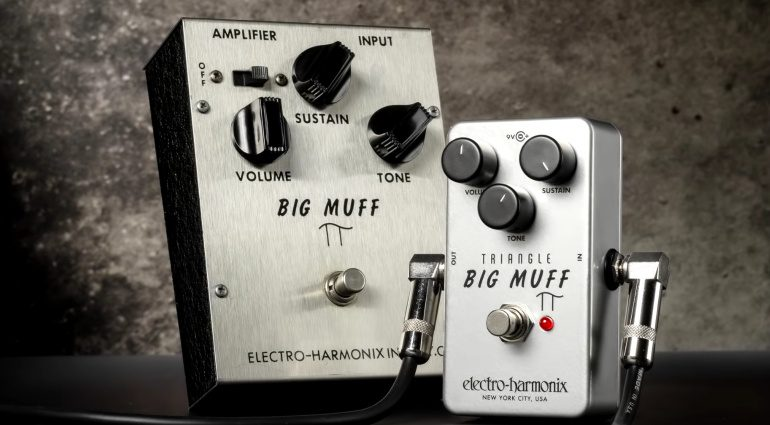 Electro Harmonix EHX Triangle Big Muff Pi Reissue Front
