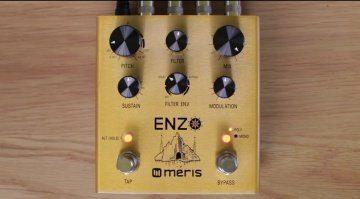 Enzo Meris Synthesizer Effekt Pedal Front