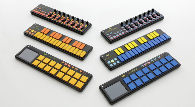 Korg feiert zehn Jahre nanoSeries-Controller mit neuen Farben