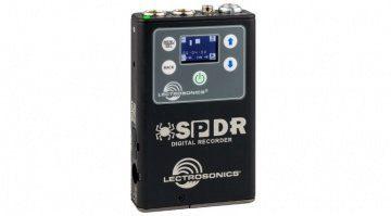 lectrosonics spdr stereo digital field recoder