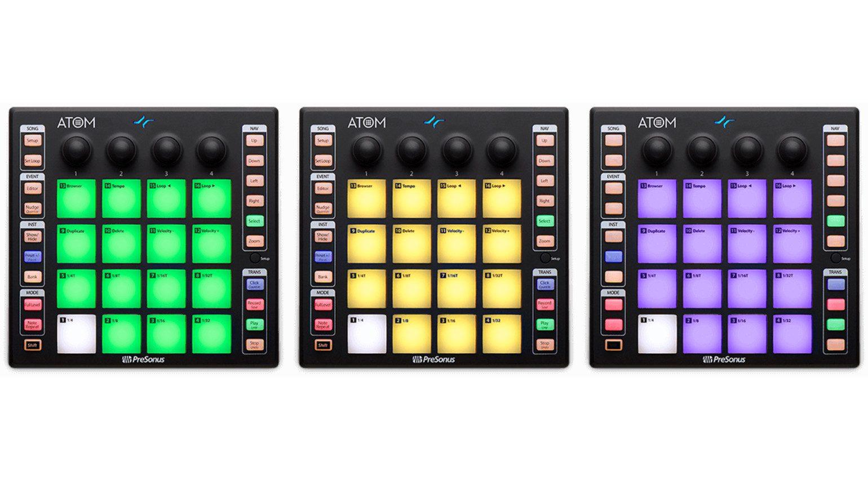 Presonus Atom - vollwertiger Pad-Controller für Studio One