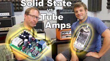 Röhre vs Transistor Amp Vergleich Video Teaser