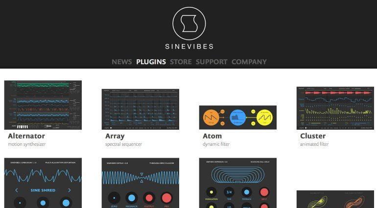 Sinevibes schenkt Anwendern Austausch-Plug-ins für Legacy Upgrades