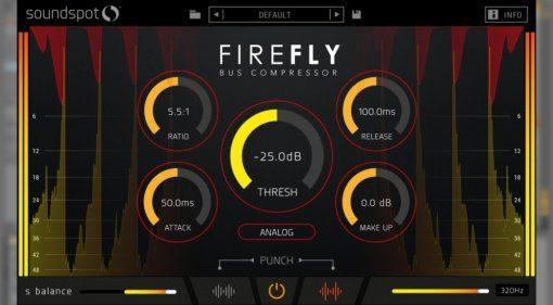 SoundSpot veröffentlicht FireFly Bus-Kompressor-Plug-in