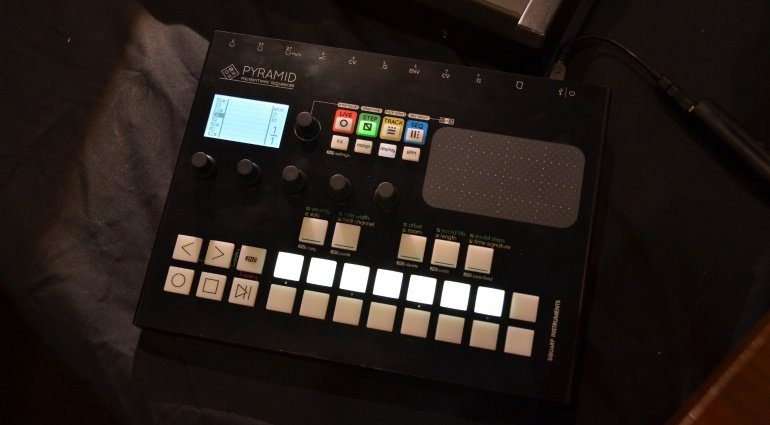 squarp pyramid sequencer