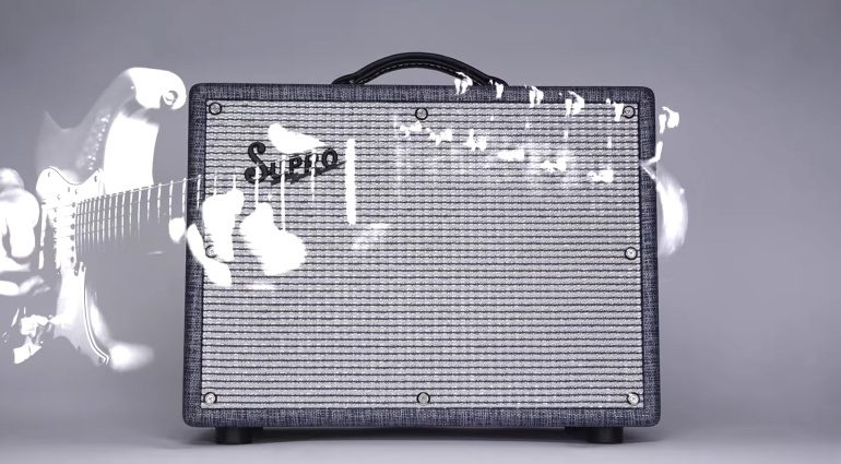 Supro Keeley Custom Amp Combo Front