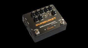 Tritonlab Sunburst Bass Overdrive Pedal Effekt