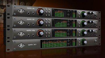 Universal Audio Apollo X6, X8, X8p und X16 ist da!