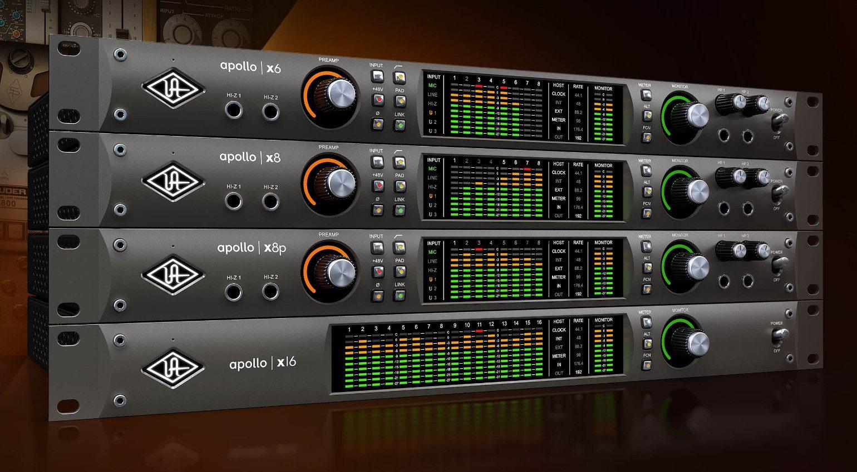 Universal Audio Apollo X6, X8, X8p und X16 ist da!   gearnews de