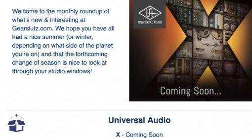 Teaser: UAD X kommt! Nur was steckt dahinter?