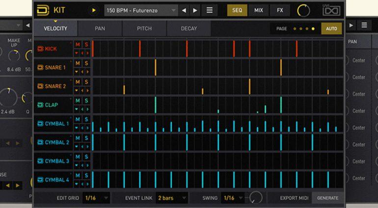 Synthese und Samples kombinieren? Das macht das Plug-in UVI Drum Designer