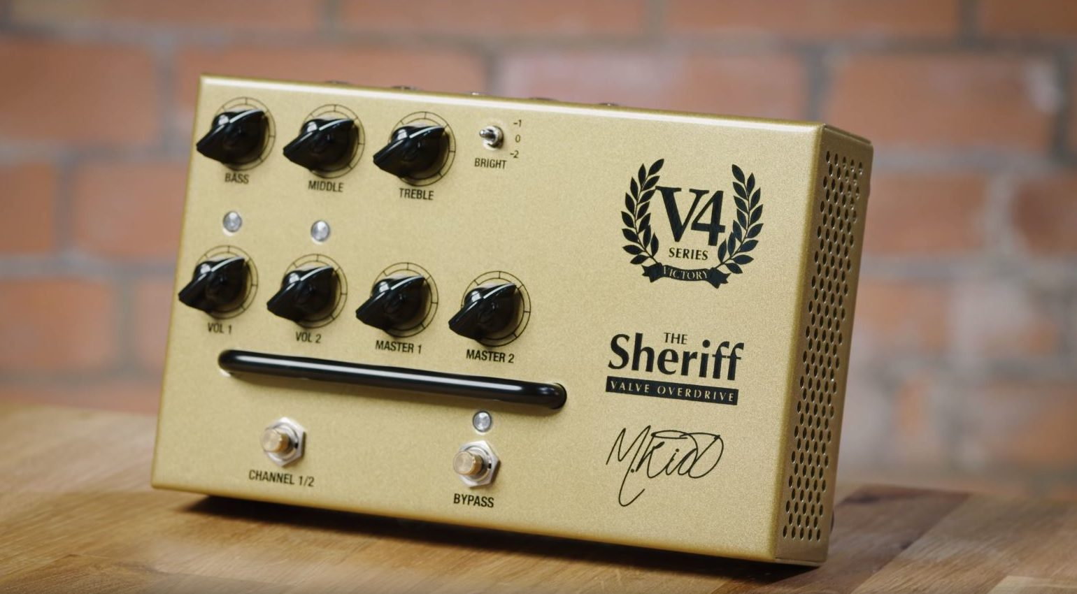 Victory V4 Preamp The Sheriff