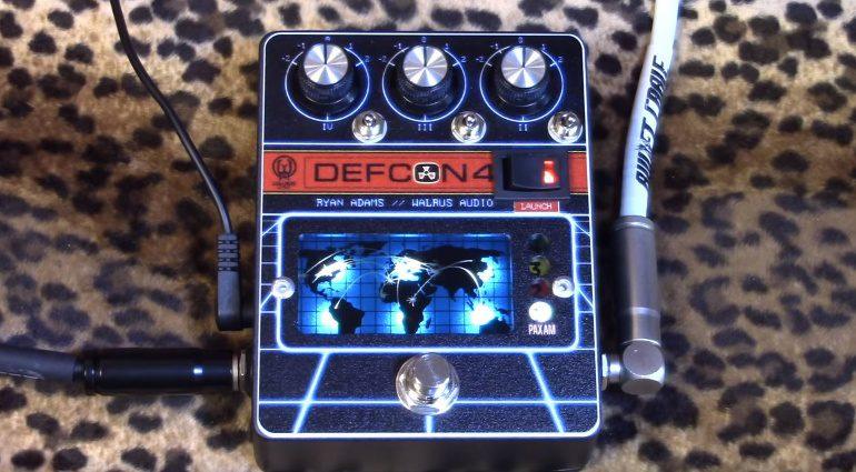 Walrus Audio Defcon 4 Ryan Adams Signature EQ Boost Pedal