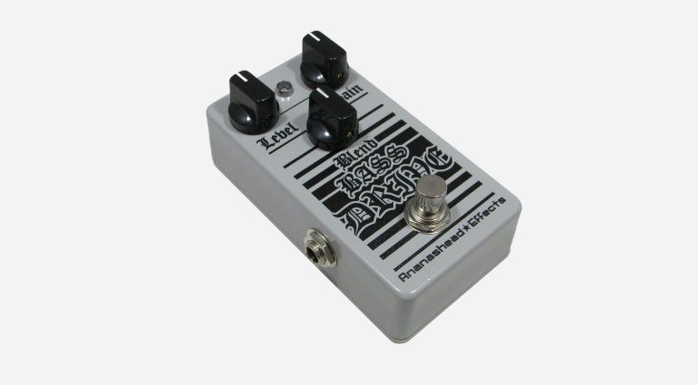 Ananashead Effects Blend Bass Drive DOD 250 Overdrive Pedal