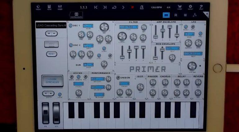 Audible Genius verschenkt den Lern-Synthesizer Primer Synth für das iPad