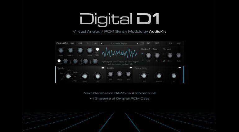 Digital D1 Hybrid Synth bringt epische Sounds aus den Achtzigern auf unser iPad